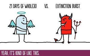 extinction burst